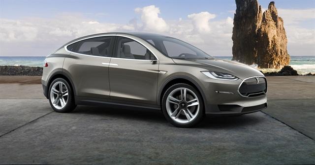 Photo of Model X courtesy of Tesla Motors.