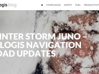 Telogis Providing Road Updates for Juno Storm