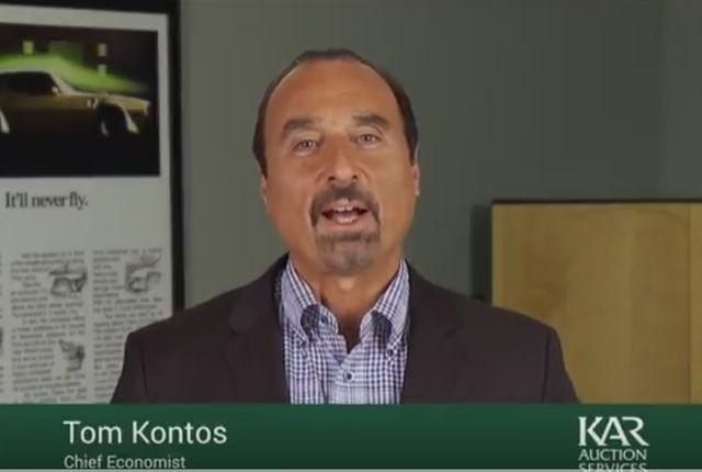 Screenshot of Tom Kontos courtesy of ADESA.