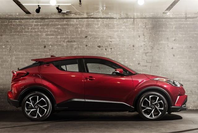 Photo of 2018 C-HR courtesy of Toyota.
