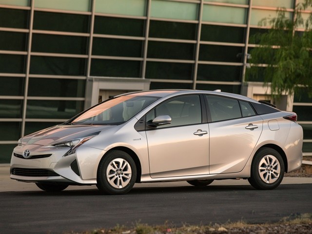 Photo of the 2017 Prius Two courtesy of Toyota.