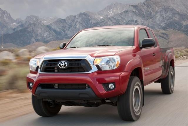 Photo of 2012 Tacoma courtesy of Toyota.