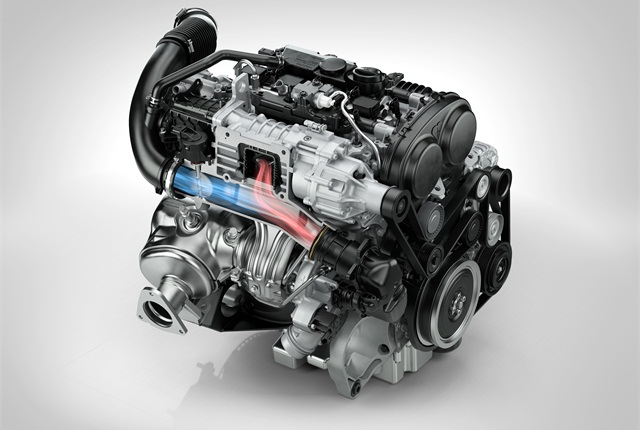 The new lineup of Drive-E engines from Volvo will include two gasoline models that will be available in the U.S. in future Volvo vehicles. Photo courtesy Volvo Cars.