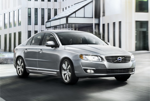 The 2014 model-year Volvo S80 sedan. Photo courtesy Volvo.