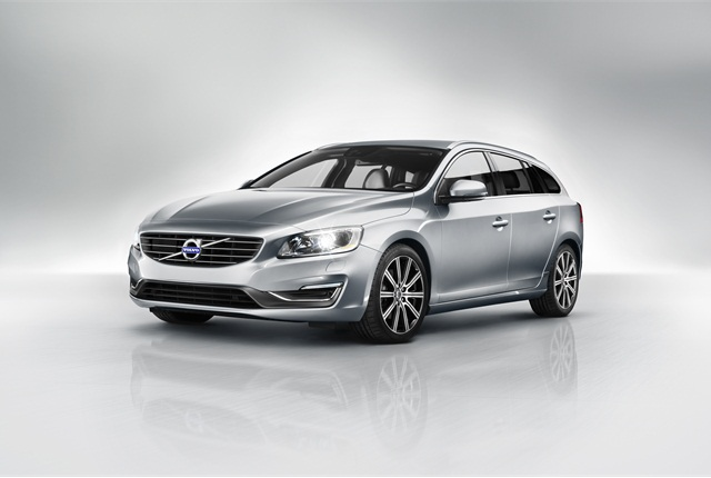 Volvo said it's bringing its V60 Sports Wagon to the U.S. in early 2014. Photo courtesy Volvo.