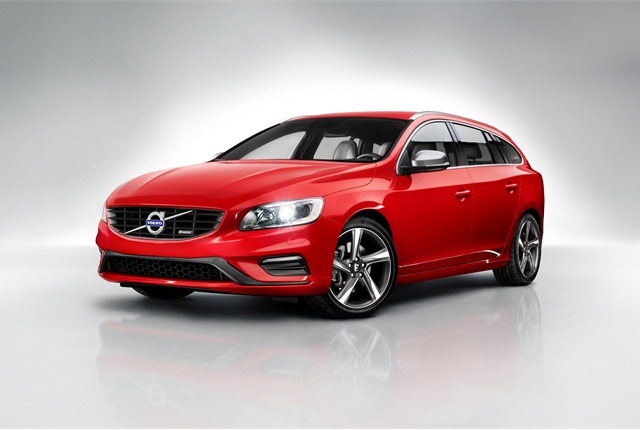 The Volvo V60 sportswagon. Photo courtesy Volvo.