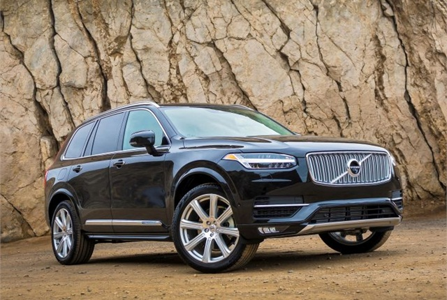 Photo of XC90 courtesy of Volvo.