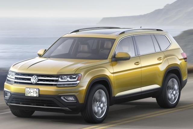Photo of 2018 Atlas courtesy of Volkswagen.