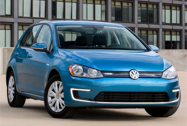 Photo of e-Golf Limited Edition courtesy of VW.