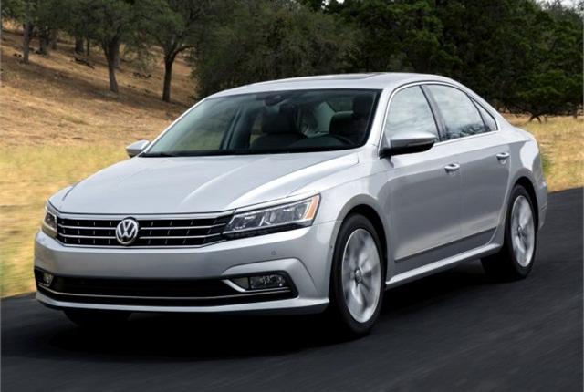 Photo of 2016 Passat courtesy of Volkswagen.