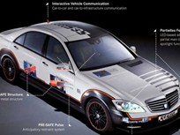 Mercedes-Benz Shows Off Future of Safety Tech with ESF 2009 Prototype