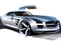 Mercedes-Benz Working on Electric Plug-In SLS Supercar