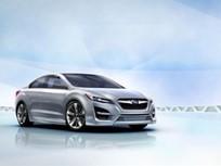 Subaru Debuts Impreza Design Concept at Los Angeles Auto Show