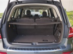 The GLS450 can accomodate up to 93.8 cubic feet of cargo with its