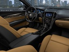 The new ATS offers seven interior color and trim combinations.