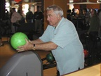 One year, the company took its Christmas party to the bowling alley