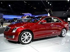 Another new Cadillac model at the show was the automaker s ATS sedan.