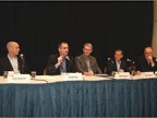 David Carp (second from left), director of fleet, remarketing &
