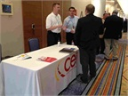 The CEI Group s table at the 2012 Fleet Safety Conference.