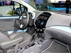 The Chevrolet Spark EV s cabin features noise-reduction and a