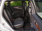 The two-row MKX seats four large adults comfortably and a smaller