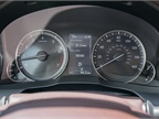 The instrument panel offers trip and fuel consumption data.