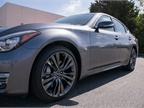 The Q70 rides on 18-inch aluminum alloy wheels.