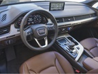 The Q7 offers available four-wheel steering.