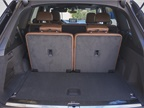 The Q7 offers 14.8 cubic feet of cargo area that expands to 71.6 cubic
