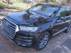 Audi's two-row Q7 offers two engines. Both pair with an 8-speed automatic and all-wheel drive.