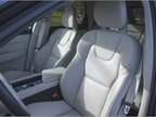 A 10-way power driver s seat provides a multitude of seating positions