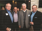 Enjoying some time networking during the event were (l-r) Paul