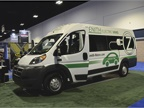 The Zenith Motors electric cargo van eliminates gasoline costs,
