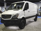The 2016 Mercedes Sprinter 2500 with standard roof height features a