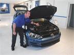 Lockwood shows the Volkswagen Golf SportWagen S 4Motion, VW s second