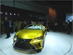 The Lexus LF-C2 Concept Convertible was a debut.