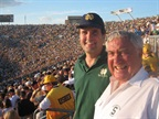 Aside from his family and the company, Ed lived to root for MSU and