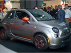 One of Chrysler s Fiat-brand debuts was its all-new 500e electric