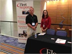 Fleet Response s table at the conference.