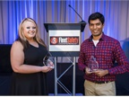 Fleet Safety Awardees Kelsey Wolfe of Southern Freight Services and