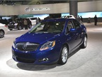 GM s Buick brand had its 2013-MY Verano at the show, which features an