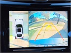 The Surround Vision system provides a 360-degree view by piecing