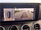 The optional Surround View system prrovides a birds-eye view for