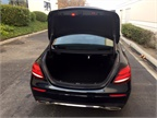 The E300 offers 13.1 cubic feet of cargo space.