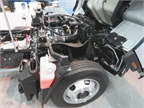 Mitsubishi Fuso showed off a prototype FE Series truck powered by a