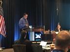 Reagan Terrill, SSH&E Manager for Exxon Mobil, spoke at the NETS