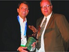 Paul Seger of GE Capital was named Consignor of the Year. He received