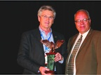 Ricky Beggs of Black Book received the Industry Leadership Award from