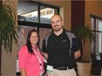 Senior Fleet Specialists for Joy Global, Nina Bruno and Jared Hanis