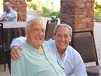 Ed Bobit (left), chairman of Bobit Business Media, spent time with